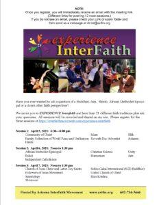Experience Interfaith! A resource with 20 faiths